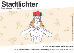 """Flyer """"Nacht der Politik"""""""