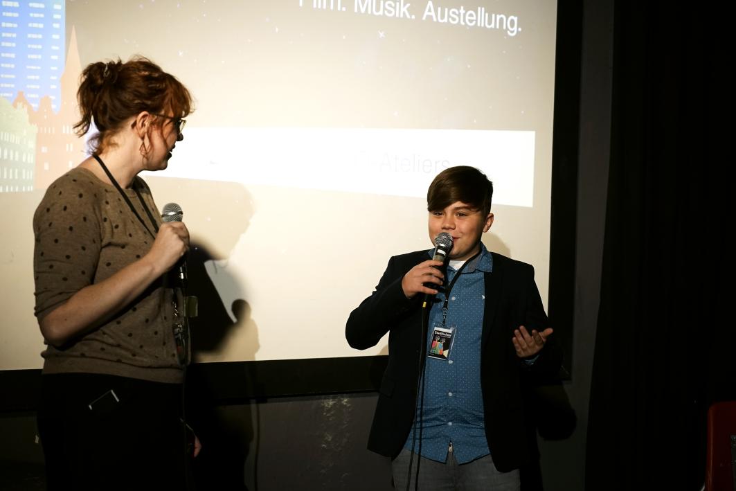 Kinderprogramm Gespräch mit Regisseur Lasko Schleunung